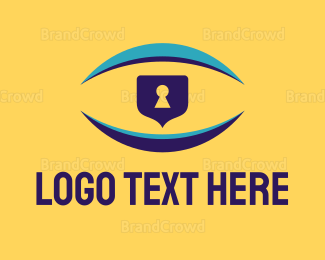 Security - Vision Security logo design