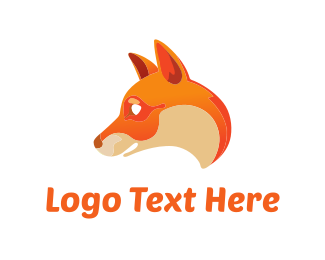 Illustration - Smiling Fox logo design