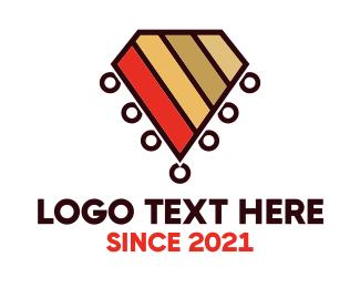 Tribal - Tribal Diamond logo design