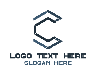 Mechanic - Mechanical C Outline logo design
