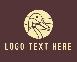 Brown Duck - Brown Duck logo design