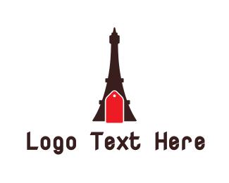 """""""Eiffel Tower Tag"""" by shad"""