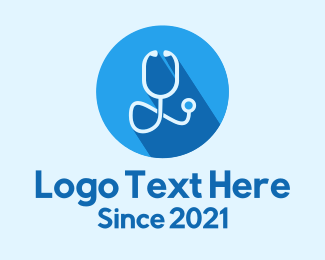 Medical Care - Medical Doctor Stethoscope logo design