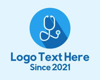 Doctor - Medical Doctor Stethoscope logo design