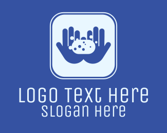 Clean Hands - Hand Wash Soap App logo design