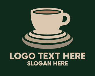 Cup And Saucer - Coffee Beverage logo design