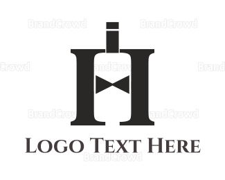 Bartender - Elegant Letter H logo design