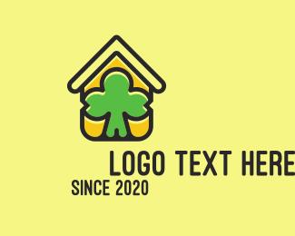 Lucky - Lucky Irish House Property logo design