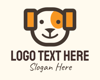 Mascot - Adorable Dog Mascot logo design