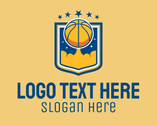 Emblem - Basketball Team Emblem logo design