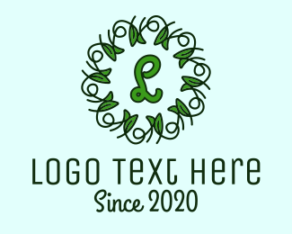 Ornament - Ornament Wreath Vines logo design