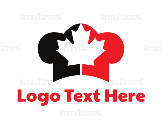 Dine - Canadian Chef logo design