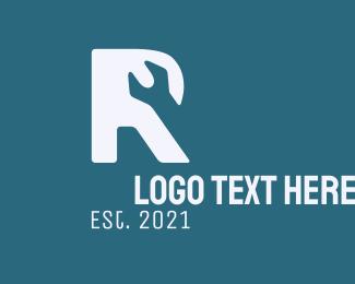 Letter - Letter R Wrench logo design
