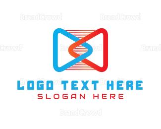 Producer - Media Player logo design