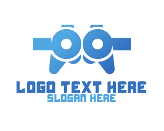 Gaming - Game Technology logo design