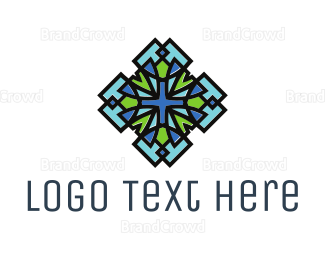 Architect - Blue Green Art logo design