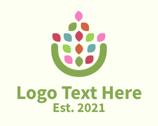 Flower Pot Logo