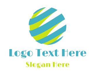 Atlas - Retro Globe logo design