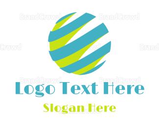 Globe - Retro Globe logo design