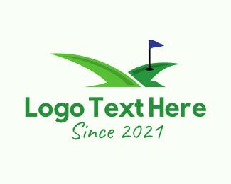 Sports - Bird Golf Curse logo design