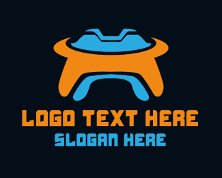 Extraterrestrial - UFO Gaming logo design