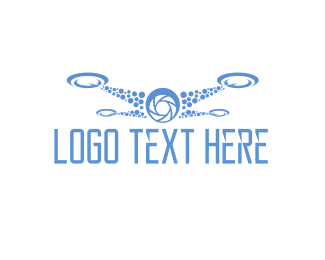 Uav - Drone Photographer logo design