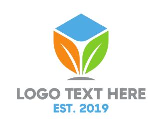 Plant - Colorful Plant logo design