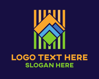 Construction - Geometric Landscape logo design