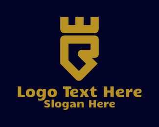 Fortress - Fortress Letter R logo design