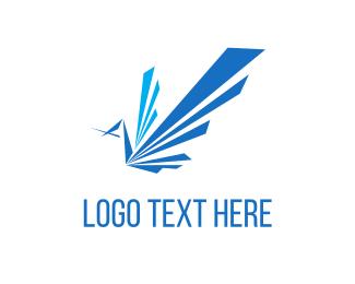 Mail - Blue Parrot logo design