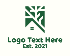 Real Estate - House Street Map Guide logo design