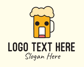 Silly - Silly Beer Mascot logo design