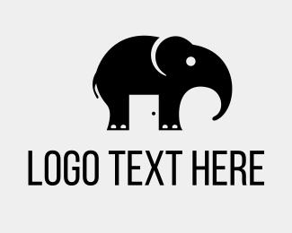 Hostel - Elephant Room logo design