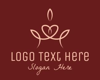 Fashion Accessory - Elegant Pageant Crown  logo design