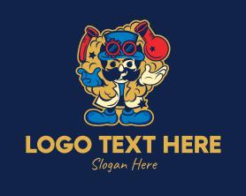 Steampunk - Chemist Lab Mascot logo design