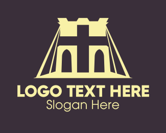 Viaduct - Religious Bridge logo design