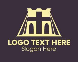 Religious - Religious Bridge logo design