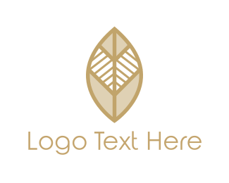 Kenya - Tribal Leaf logo design