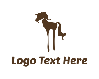 Unicorn - Splash Unicorn logo design