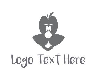Male - Grey Man  logo design