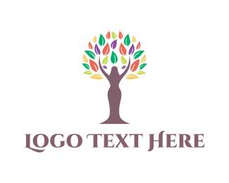 Feminine - Feminine Tree logo design