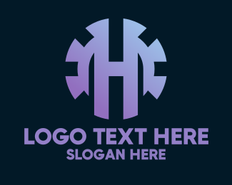 Machinery - Industrial Letter H logo design