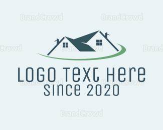 """Real Estate Planet"" by LogoBrainstorm"