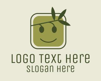 Smile - Olive Branch Smile logo design