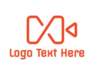 Capture - Red Infinity Camera logo design