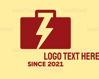 Briefcase - Electric Briefcase logo design