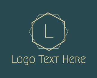 Minimal - Simple Minimal Art Deco Letter logo design