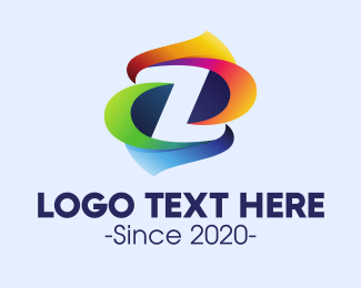 """""""Colorful Letter Z"""" by town"""
