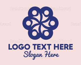 Customer Support - Crowd Flower logo design