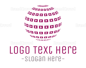 Language - Media Planet logo design